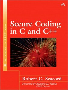 Secure Coding in C and C++ (Paperback)-cover