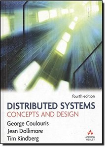 Distributed Systems: Concepts and Design, 4/e-cover