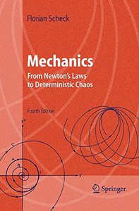 Mechanics : From Newton's Laws to Deterministic Chaos, 4/e-cover