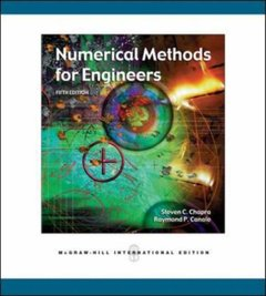 Numerical Methods for Engineers, 5/e-cover
