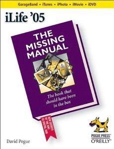 iLife '05 : The Missing Manual-cover