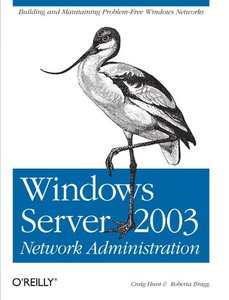 Windows Server 2003 Network Administration-cover