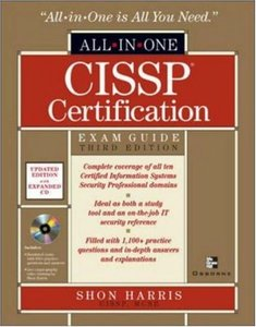 CISSP All-in-One Exam Guide, 3/e-cover