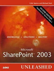Microsoft SharePoint 2003 Unleashed, 2/e-cover