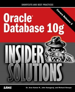 Oracle Database 10g Insider Solutions-cover