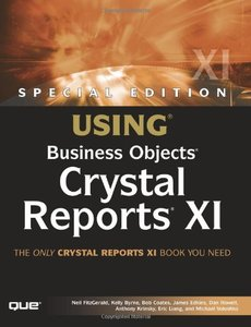 Special Edition Using Business Objects Crystal Reports XI-cover