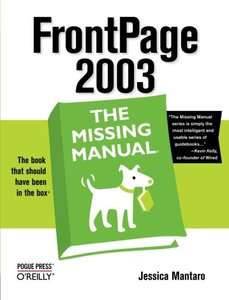 FrontPage 2003: The Missing Manual-cover
