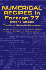Numerical Recipes in Fortran 77, 2/e-cover