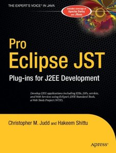 Pro Eclipse JST: Plug-ins for J2EE Development (Paperback)-cover