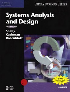 Systems Analysis and Design, 6/e-cover