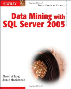 Data Mining with SQL Server 2005-cover