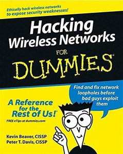 Hacking Wireless Networks For Dummies-cover