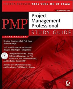 PMP: Project Management Professional Study Guide, 3/e (Paperback)-cover