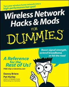 Wireless Network Hacks & Mods For Dummies-cover