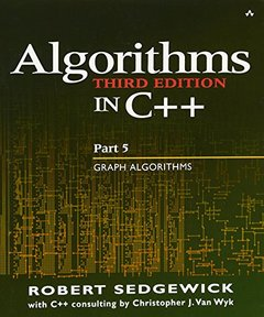Algorithms in C++ Part 5: Graph Algorithms, 3/e (Paperback)-cover
