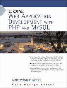 Core Web Application Development with PHP and MySQL (Paperback)-cover