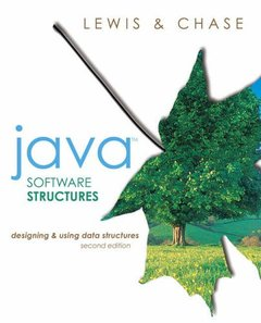 Java Software Structures: Designing and Using Data Structures, 2/e (Paperback)-cover