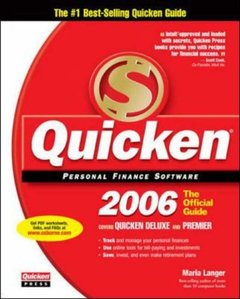Quicken 2006 : Official Guide, 2/e (Paperback)-cover