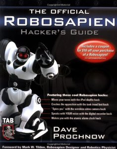 The Official Robosapien Hacker's Guide-cover