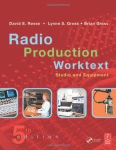 Radio Production Worktext: Studio and Equipment, 5/e-cover