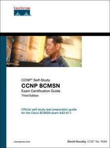 CCNP BCMSN Exam Certification Guide, 3/e-cover