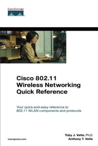 Cisco 802.11 Wireless Networking Quick Reference-cover