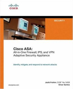 Cisco ASA : All-in-One Firewall, IPS, and VPN Adaptive Security Appliance-cover