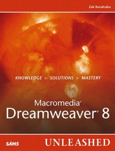 Macromedia Dreamweaver 8 Unleashed (Paperback)-cover