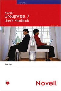 Novell GroupWise 7 User's Handbook-cover