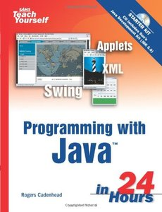 Sams Teach Yourself Programming with Java in 24 Hours, 4/e (Paperback)-cover