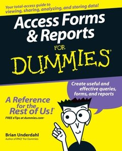 Access Forms & Reports For Dummies-cover