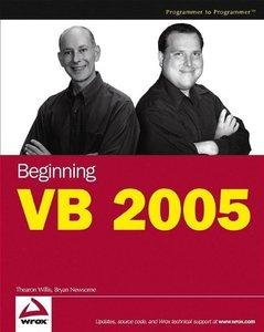 Beginning Visual Basic 2005, 4/e (Paperback)-cover