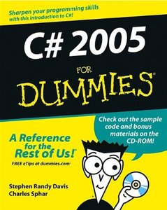 C# 2005 For Dummies-cover