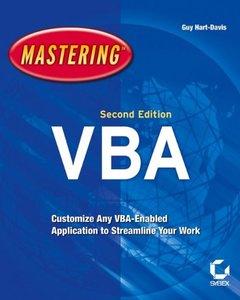 Mastering MIcrosoft VBA, 2/e-cover