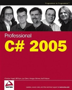 Professional C# 2005, 3/e-cover