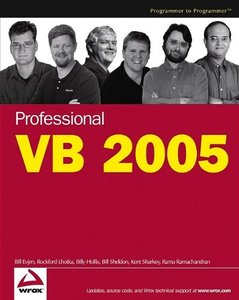 Professional VB 2005-cover