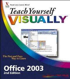 Teach Yourself VISUALLY Office 2003, 2/e-cover