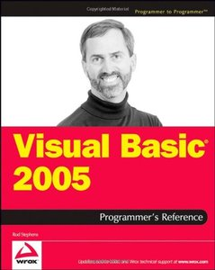 Visual Basic 2005 Programmer's Reference (Paperback)-cover