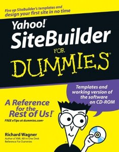 Yahoo! SiteBuilder For Dummies-cover