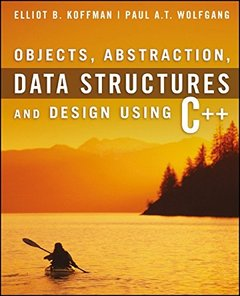 Objects, Abstraction, Data Structures and Abstraction: Using C++ (Paperback)-cover