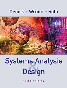 Systems Analysis and Design, 3/e-cover