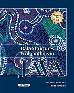 Data Structures and Algorithms in Java, 4/e-cover
