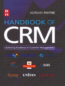 Handbook of CRM: Achieving Excellence through Customer Management-cover