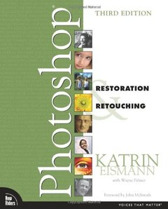 Adobe Photoshop Restoration & Retouching, 3/e (Paperback)-cover