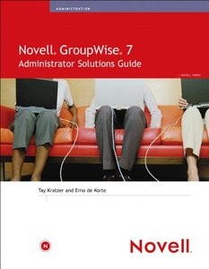 Novell GroupWise 7 Administrator Solutions Guide-cover