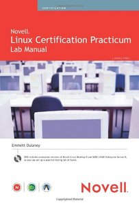 Novell Linux Certification Practicum Lab Manual-cover