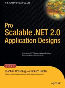 Pro Scalable .NET 2.0 Application Designs (Hardcover)-cover