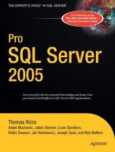Pro SQL Server 2005 (Paperback)-cover