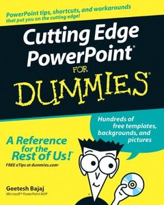 Cutting Edge PowerPoint For Dummies-cover