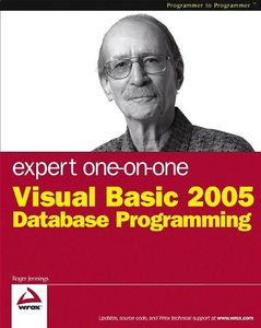 Expert One-on-One Visual Basic 2005 Database Programming-cover